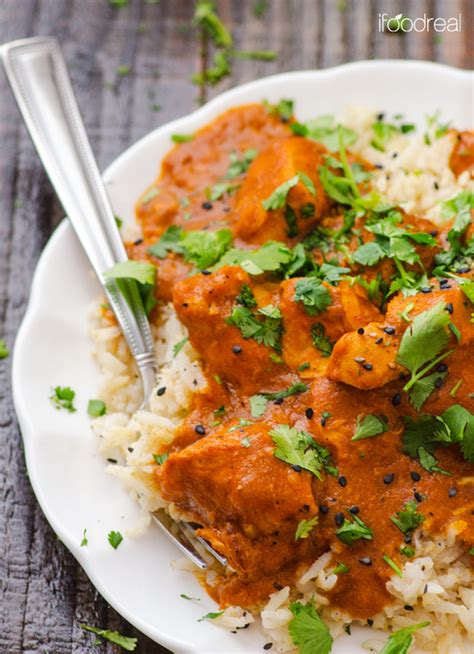 healthy crock pot butter chicken recipe recipechart com