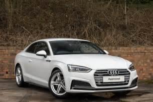 Audi A5 Diesel Coupe 2017 Audi A5 Coupe Quattro 2dr Diesel White Dualclutch Ebay