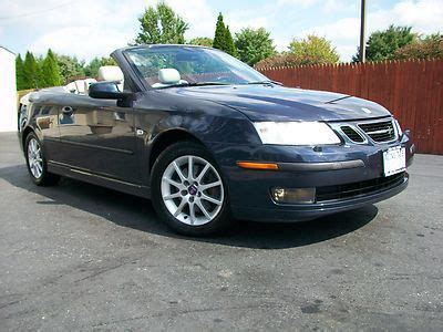 how to sell used cars 2004 saab 42133 security system sell used 2004 saab 9 3 convertible low miles clean carfax warranty must see no reserve in