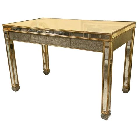 Mid Century Modern Desks For Sale Mid Century Modern Mirrored Desk For Sale At 1stdibs