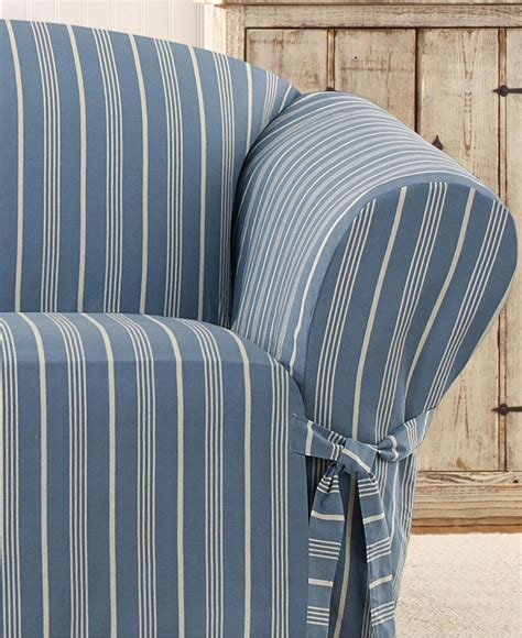 20 Choices Of Striped Sofa Slipcovers Sofa Ideas Striped Slipcovers For Sofas