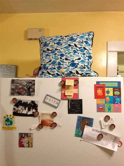 put a pillow on your fridge day adriellealdrich
