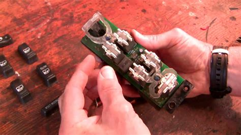 how do i remove power door lock switch from a 2007 bentley azure how to fix the chev power window door lock switch youtube