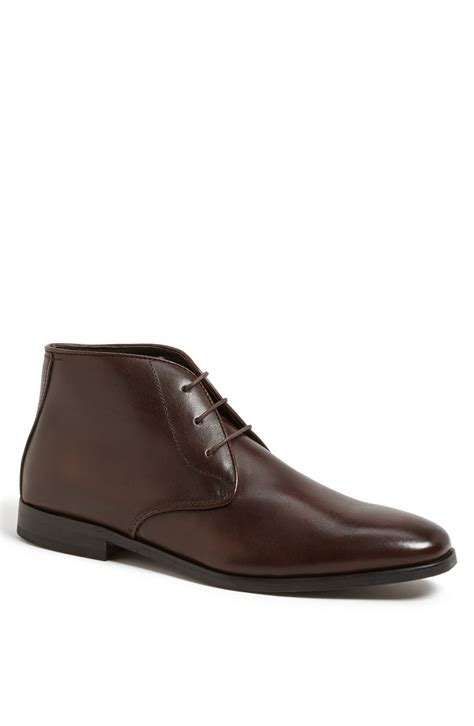 florsheim mens boots florsheim jet chukka boot in brown for lyst