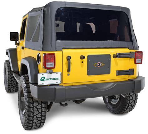 Jeep Wrangler Tailgate Jcr Offroad Tailgate Vent Cover For 07 17 Jeep 174 Wrangler