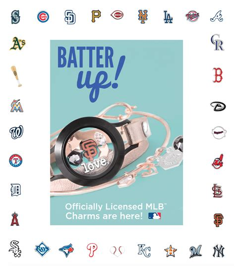 knock origami owl mlb licensed charms from origami owl custom jewelry