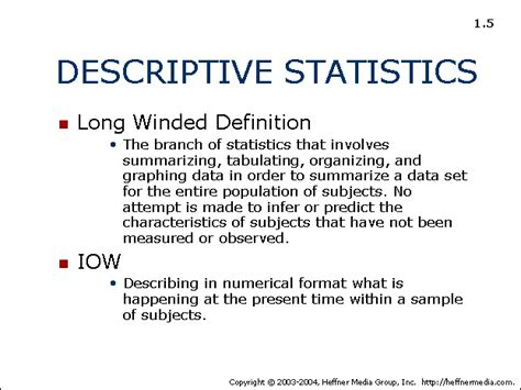 descriptive design meaning 05 descriptive statistics allpsych