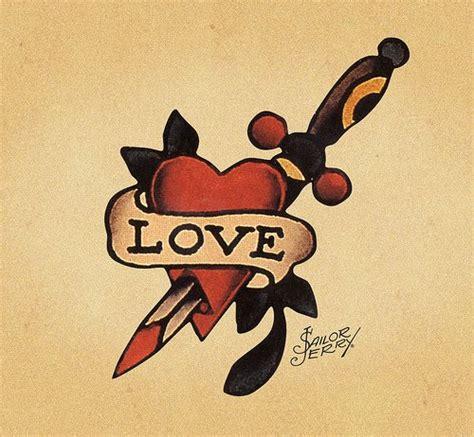tattoo old school love the ink never abandons you significati tatuaggi old