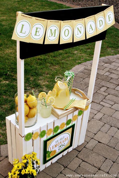 diy lemonade stand diy tutorial crate lemonade stand for see