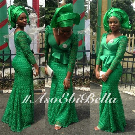 asoebi styles nigerians do glamour aso ebi style edition my fashion s