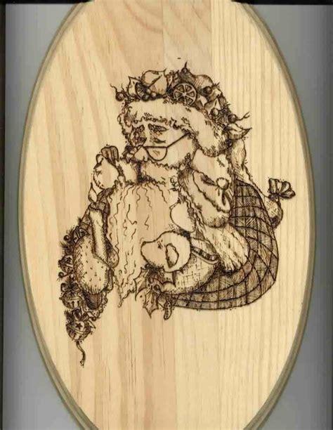 printable wood burning patterns sues santa