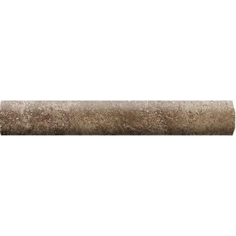 daltile santa barbara pacific sand 3 4 in x 6 in ceramic quarter round wall tile sb23a106cc1p2