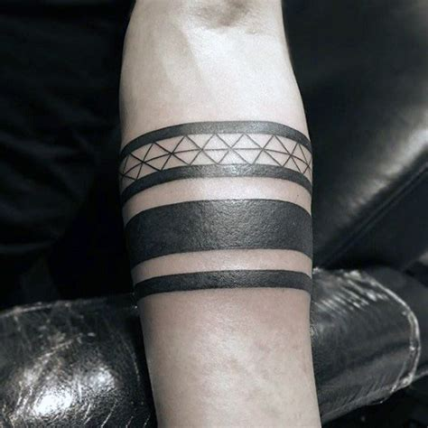 tribal ankle band tattoos 50 black band designs for bold ink ideas