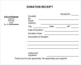 template donation receipt joy studio design gallery