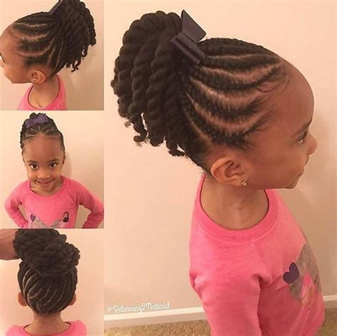 hairstyles kids so adorable via returning2natural https