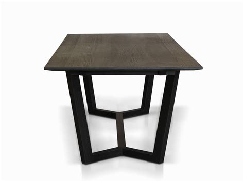 black table eaton dining table black