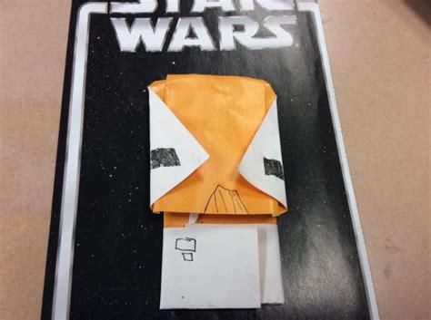 Origami Admiral Ackbar - admiral ackbar origami yoda