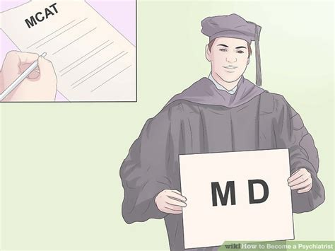 Psychiatrist Requirements by 3 Ways To Become A Psychiatrist Wikihow