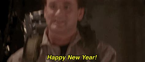 happy new year animated gif ghostbusters happy new year gifs find on giphy