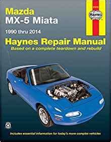 haynes repair manual 61016 for mazda miata 1990 1997 ebay mazda mx 5 miata 1990 thru 2014 does not include information specific to turbocharged models