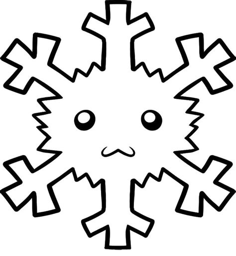 small snowflake coloring page crafts actvities and worksheets for preschool toddler and