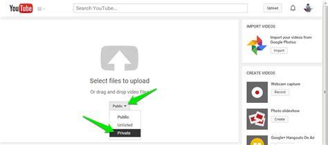 cara hapus upload video di youtube cara upload dan membagikan video private di youtube