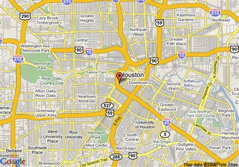 map of downtown houston texas object moved
