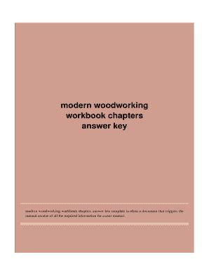modern woodworking textbook answerscom fill