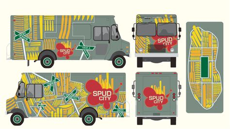Food Truck Outside Design | food truck start up vinyl wrapping vs paint one fat frog