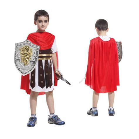 new year costume boy ancient rome soldier warrior costumes for