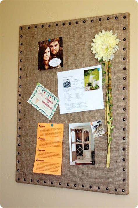 home design message board diy burlap message board ballard designs inspired home