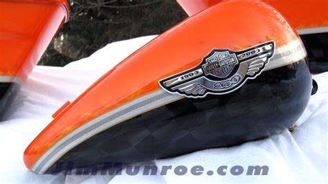 orange black white screaming eagle paint on 07 bob page 4 harley davidson forums