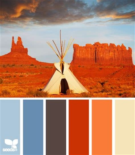 desert bright color scheme