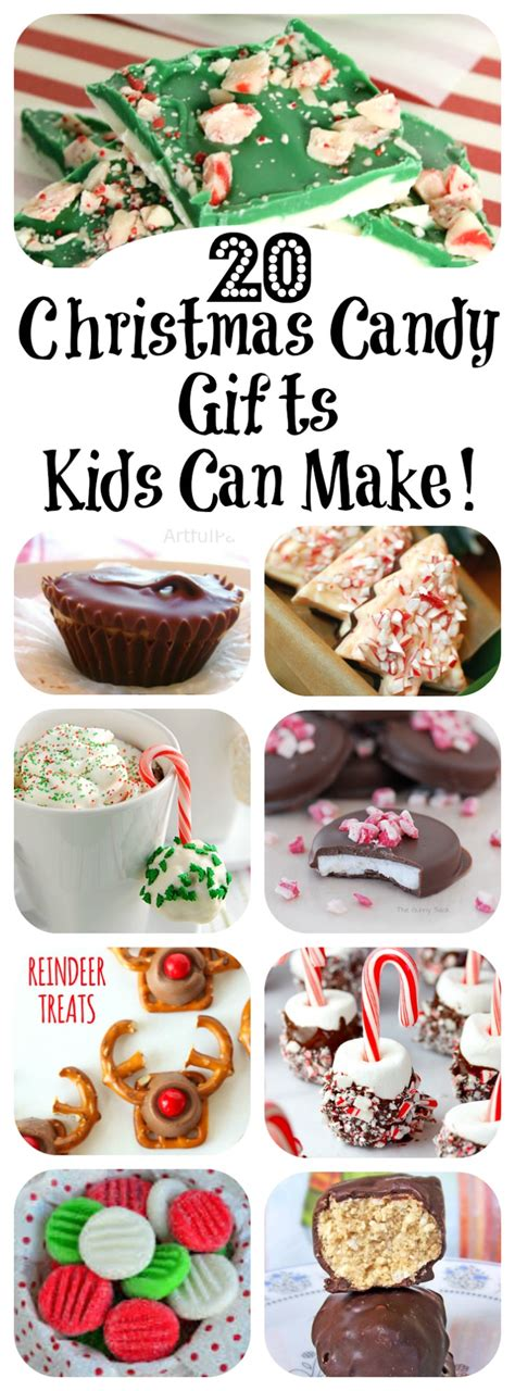 20 christmas candy gifts kids can make letters from
