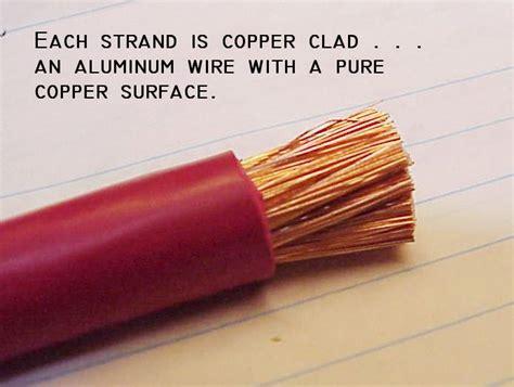 aluminum to copper wire aeroelectric copper clad aluminum wire
