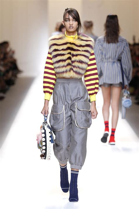 summer 2017 trends fendi spring summer 2017 women s collection the skinny beep