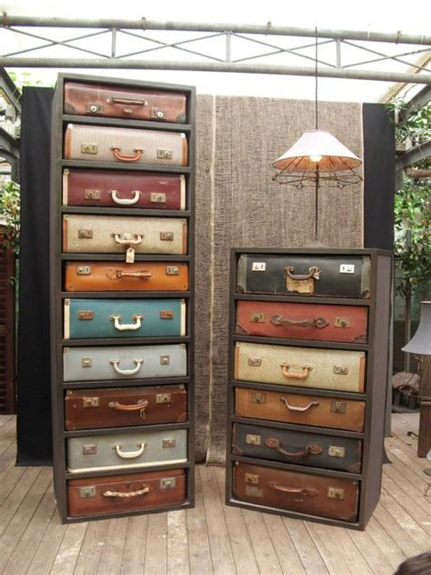 Vintage Dresser Ideas by Diy Idea Vintage Suitcase Drawer Dresser Made Diy