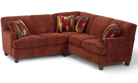 laf sofa rooms to go flexsteel dempsey contemporary 2 piece sectional sofa with