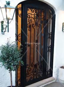 Decorative Security Doors by Home Depot Decorative Screen Doors Custom Made Wrought
