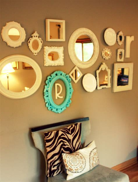 let s rethink wall decor i m a lazy - Mirror Collage Wall Decor