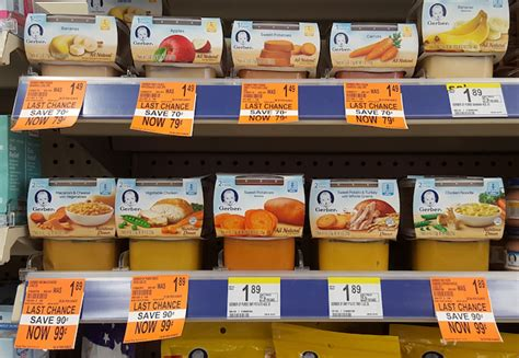 walgreens food great deal on gerber baby food at walgreens who said nothing in is free