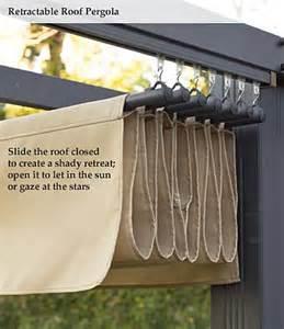 Retractable Shade Cloth Pergola by Retractable Roof For Pergola Perfect Idea Applepins Com