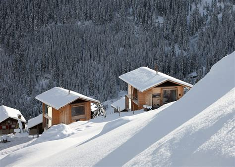 Switzerland Cabin by Charming Wood Cabins In Swiss Of Leis In Vals