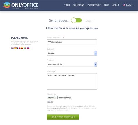 new support system from onlyoffice onlyoffice