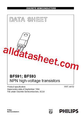 Mpsa42 Philips Nos bf591 datasheet pdf nxp semiconductors