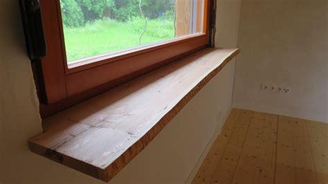 Echtholz Fensterbank by Kundenprojekt Fensterbank Aus Einseitig Unbes 228 Umter L 228 Rche