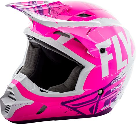 womens motocross helmets fly 2018 kinetic burnish womens dirt bike helmet