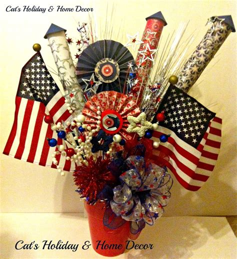 fourth of july centerpieces 4th of july centerpiece my door decor more