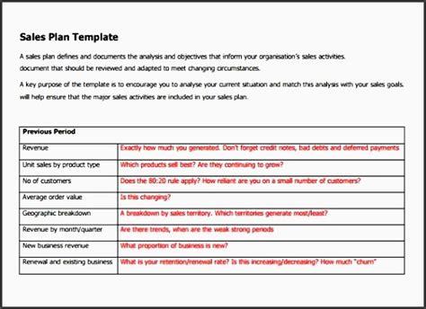 8 Sales Plan Format Sletemplatess Sletemplatess Sales Attack Plan Template