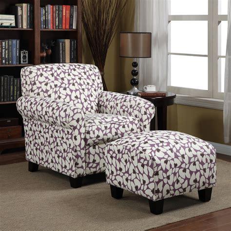 Mira Set Purple Portfolio Mira Amethyst Purple Modern Floral Arm Chair And